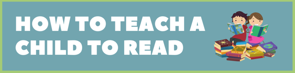 how to teach a child to read